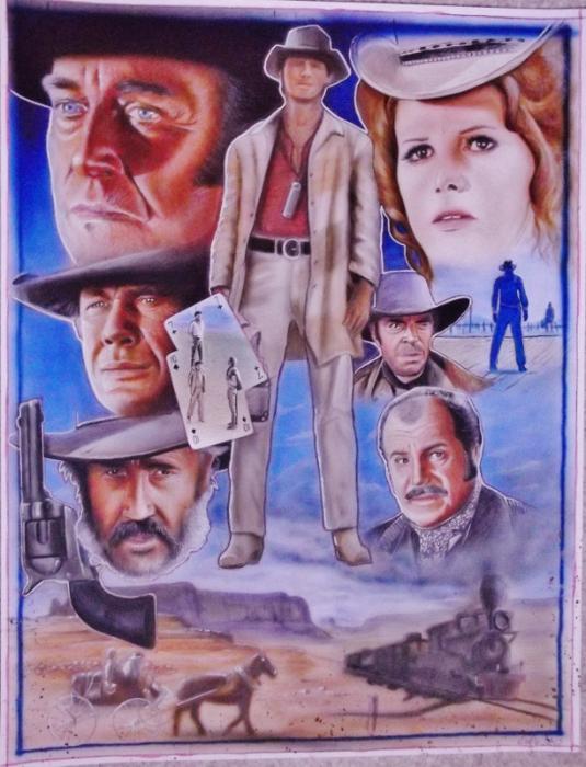 Charles Bronson, Henry Fonda, Claudia Cardinale by stephane14